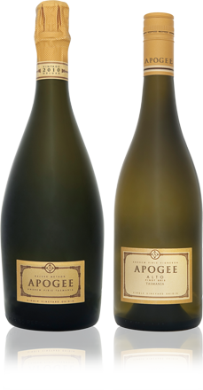 Apogee Tasmania - Vintage Sparkling and Alto Pinot Gris
