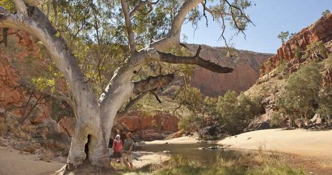 Ormiston Gorge - Photo Paddy Palin - Tourism NT