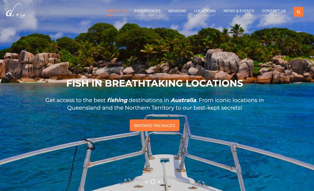 Go FIsh Australia New Website