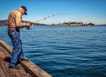 Old Man Fishing Pinterest
