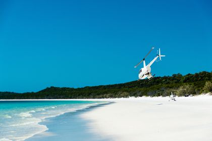 Moreton Island Fishing by Helicopter