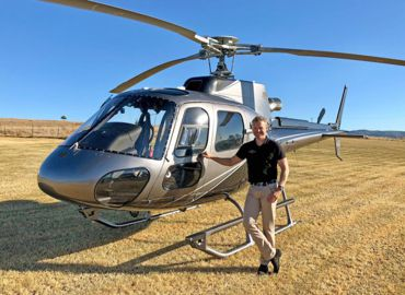 Pilot Brendan Parker With The H125 Credit Simon Ceglinski 680X448