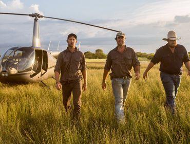 Outback Wrnagler Helicopter