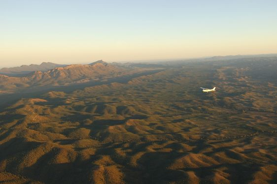 Launch of Scenic Flight Transfers from Adelaide to Wilpena Pound Resort