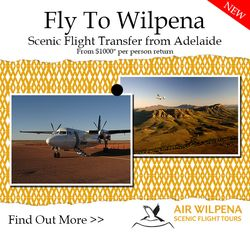 NEW Scenic Flight Transfers from Adelaide to Wilpena Pound Resort