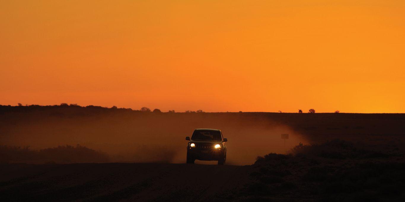 4WD Sunset