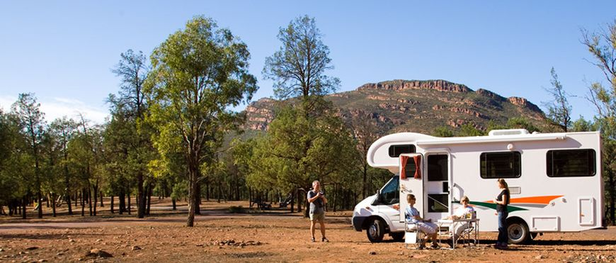 Available Campsites - Wilpena Pound Resort