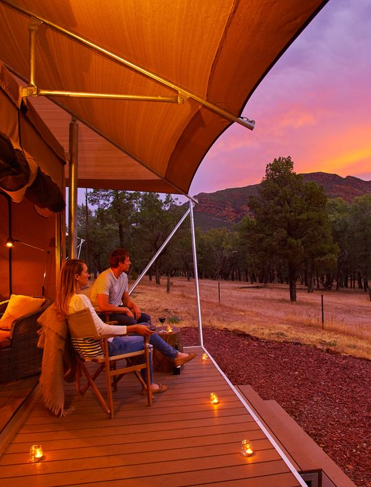 SAFARI TENT & Ikara Safari Camp u0026 Glamping - Wilpena Pound Resort