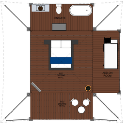 Family Tent Layout View