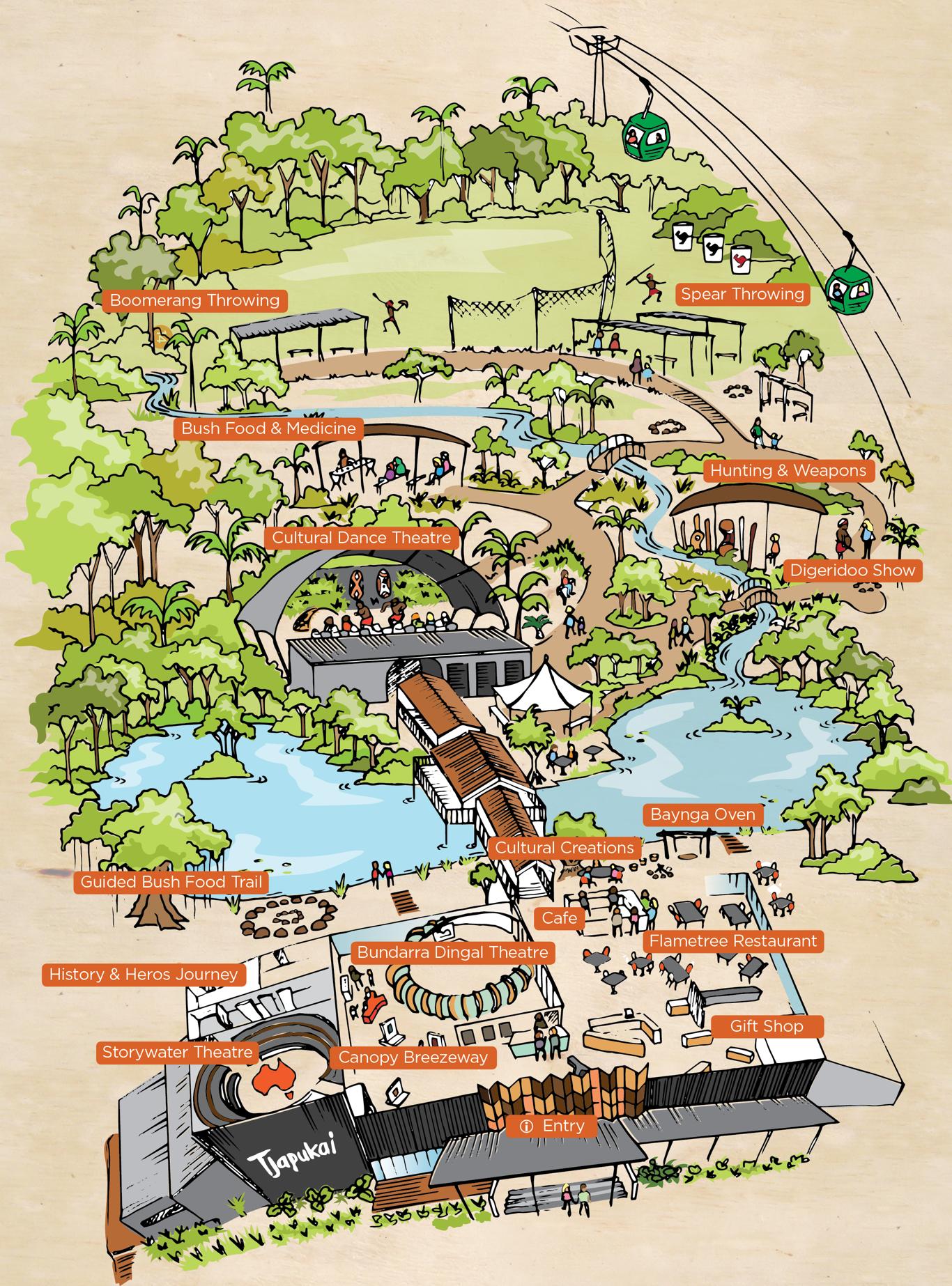 Tjapukai_Park_Map_Portrait