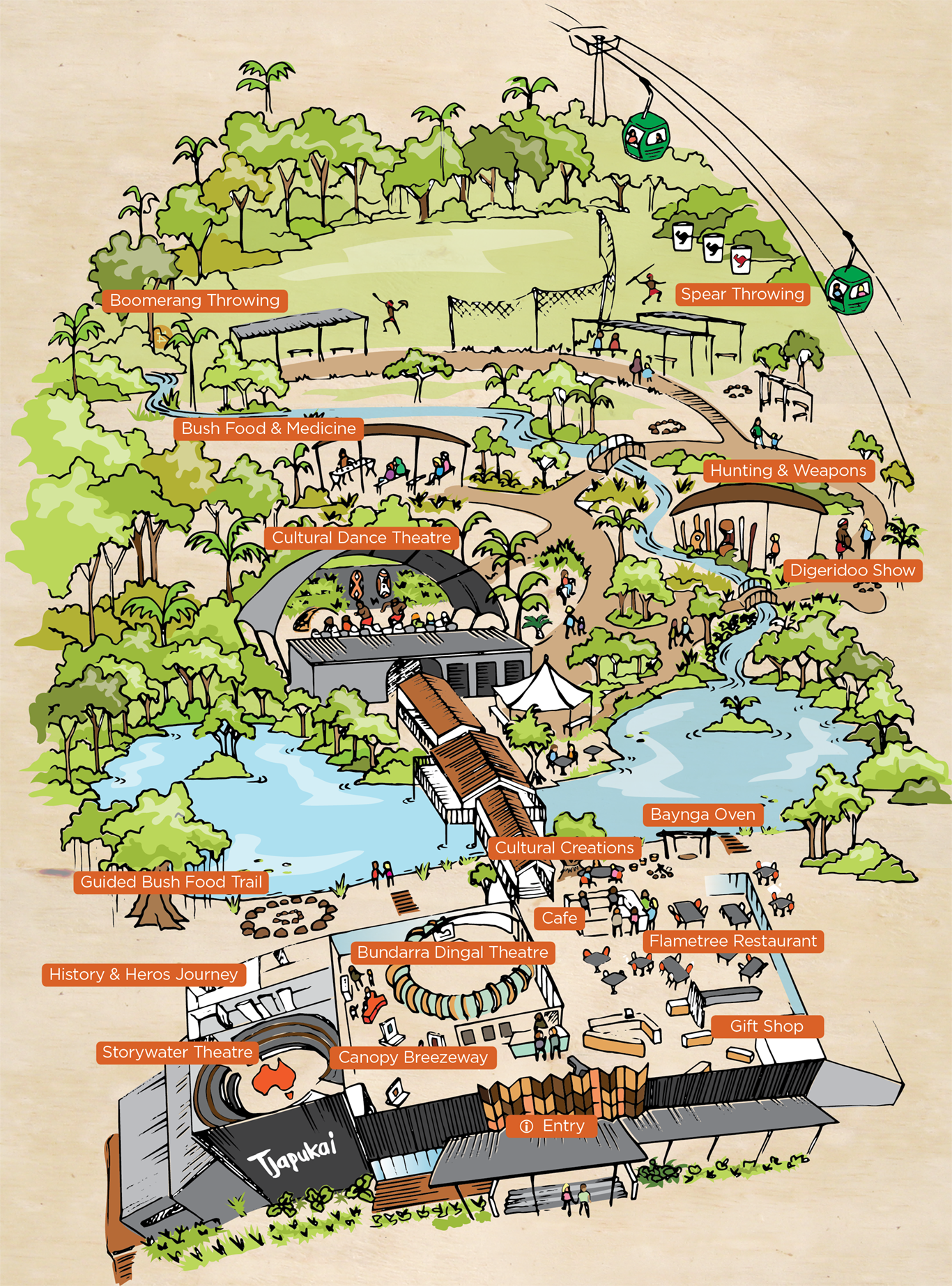 Tjapukai_Park_Map_Portrait_Sml