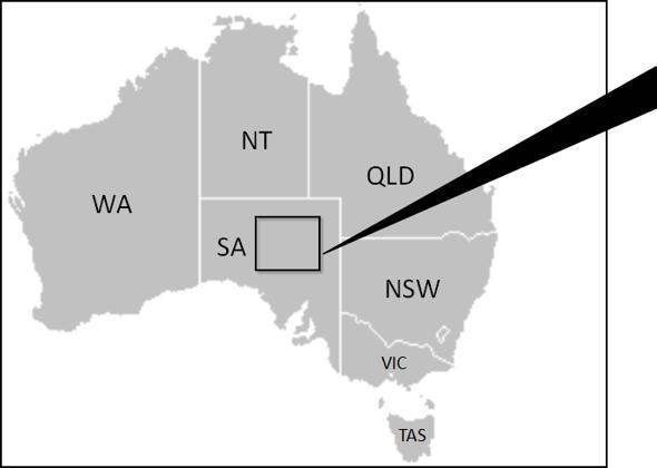 Wch 7 Location Australia Map