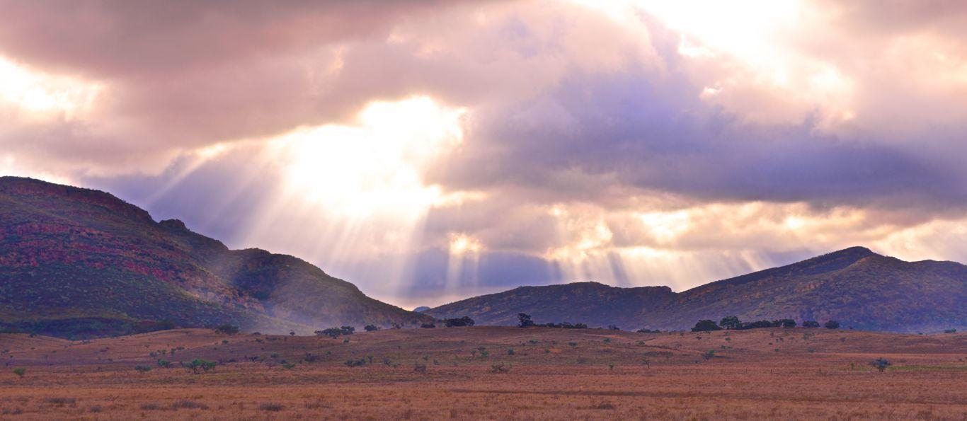 Sun Through The Cloud