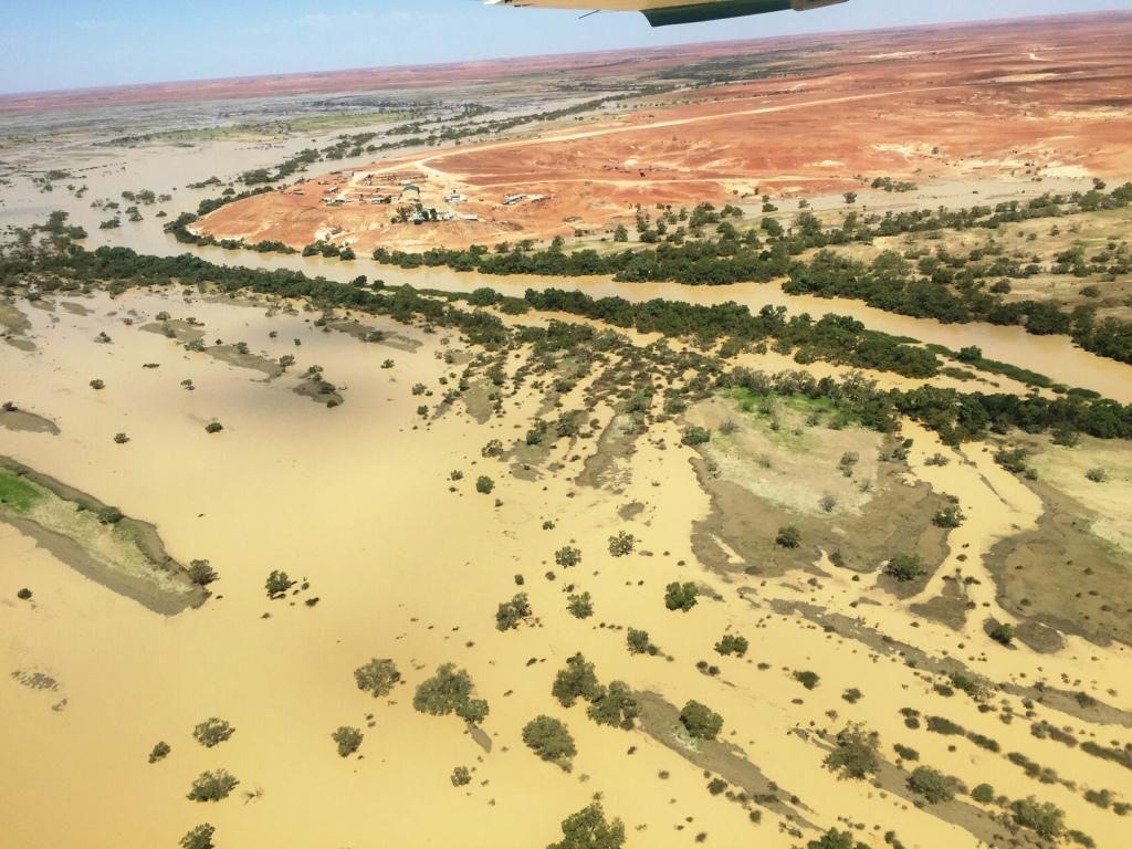 More flood waters flow!