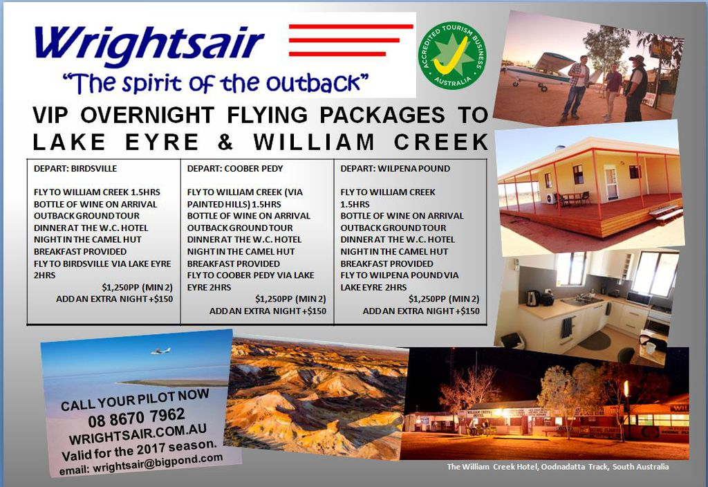VIP Overnight Flying Packages!