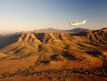 Early Morning Flight Over Wilpena Pound_Low Res