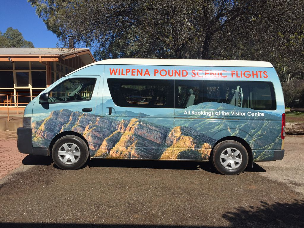 Check Out Our New Courtesy Bus