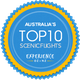 Experience Oz Best Scenic Flights Badge